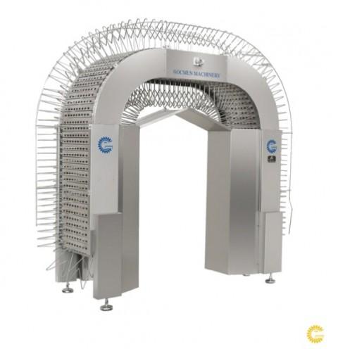 Арочный охладитель вафельных блоков Göçmen Machine