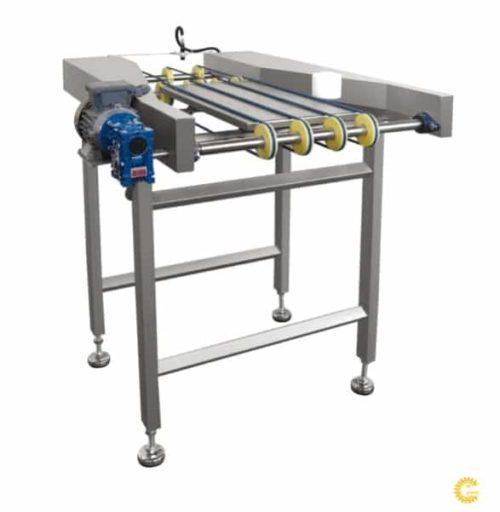 Система поворота вафельного листа Göçmen Machine