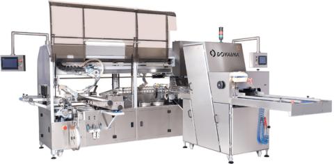Автоматическая линия для нарезки и упаковки хлебобулочных изделий DPPL-55 1