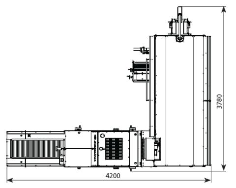 Автоматическая линия для нарезки и упаковки хлебобулочных изделий DPPL-55 4