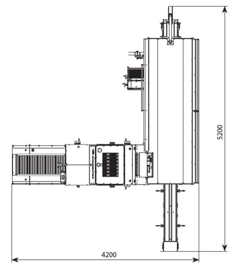 Автоматическая линия для нарезки и упаковки хлебобулочных изделий DPPL-55 5