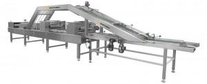 Автоматическая машина для намазывания вафельного крема2