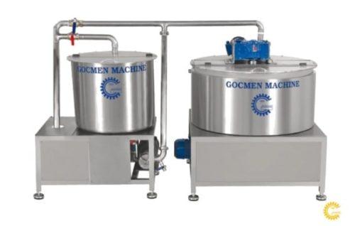 Автоматическая установка для подготовки теста Göçmen Machine
