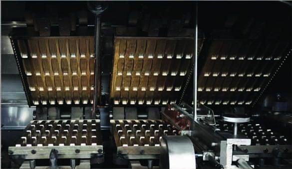 Линия производства полых вафель Gocmen