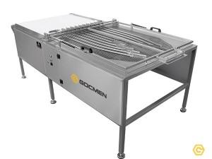 Машина для распределения вафель на потоки