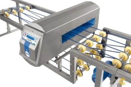 Металлодетектор (опционально) Göçmen Machine
