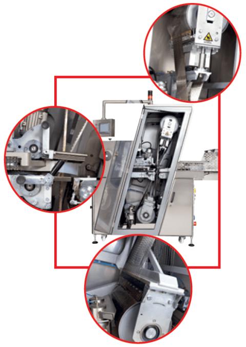 Режущее устройство для хлебобулочных изделий DP-4-2M 1