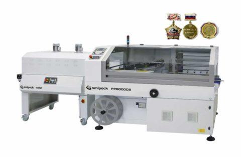 Термоупаковочный автомат SMIPACK FP 6000CS DX c угловым сваривающим ножом