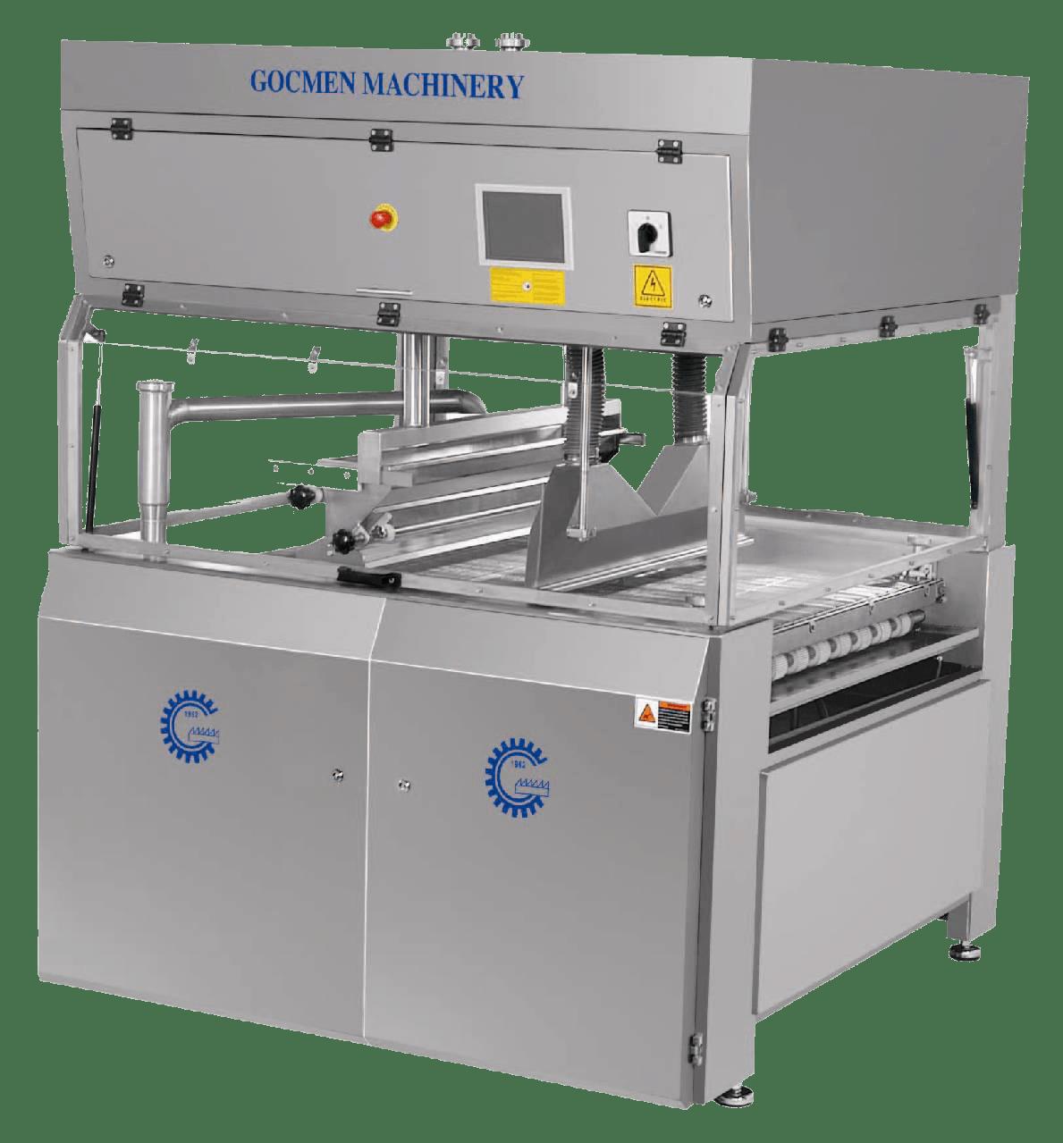 Машина для покрытия изделий карамелью Gocmen