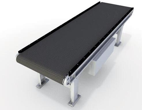 Горизонтальный ленточный приводной коробочный конвейер