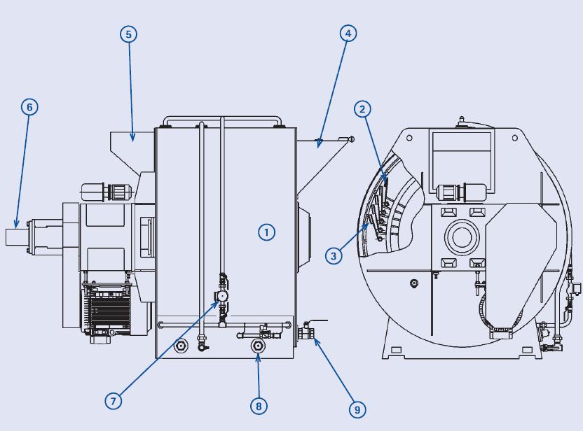 Ремкомплект для коншмашины UNIVERSAL U 1500