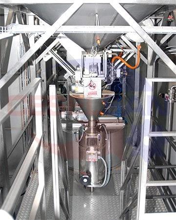 Машина для предварительной подготовки пасты (вертикальный тип)