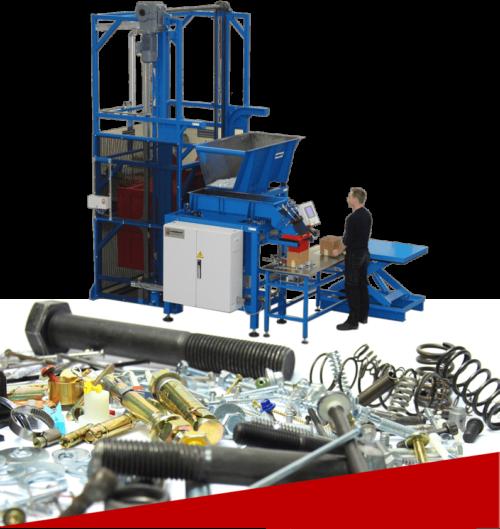 Полуавтоматическая машина для упаковки метизов STW350 1