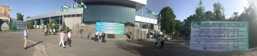 Стенды ГК Золотой Шар, Neofood, Wachtel на выставке Uzbekistan Agrotech Expo-2017