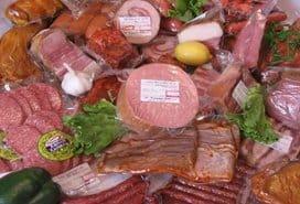 Упаковка мяса и рыбы в пленку