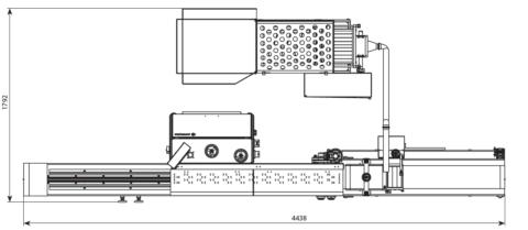 Линия по надрезу булочки BPS 100 Возможные конфигурации 3