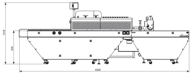 Линия по надрезу булочки BPS 100 Возможные конфигурации 4