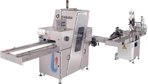 Полуавтомат для нарезки и упаковки хлебобулочных изделий DPP 1