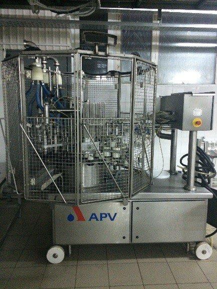 Автомат карусельного типа для фасовки мороженого