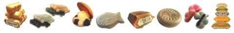 Автоматическая печь для выпечки полых вафель MONAKA для сэндвич-мороженого модель MKT 36 продукция