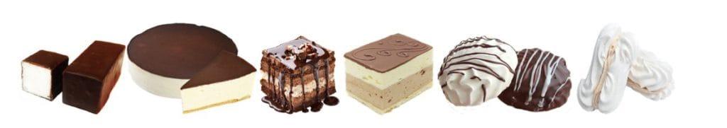 Изготовления суфлейных, бисквитных, безейных и кремовых масс в производстве тортов и пирожных