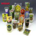 Упаковка олив и других косточковых