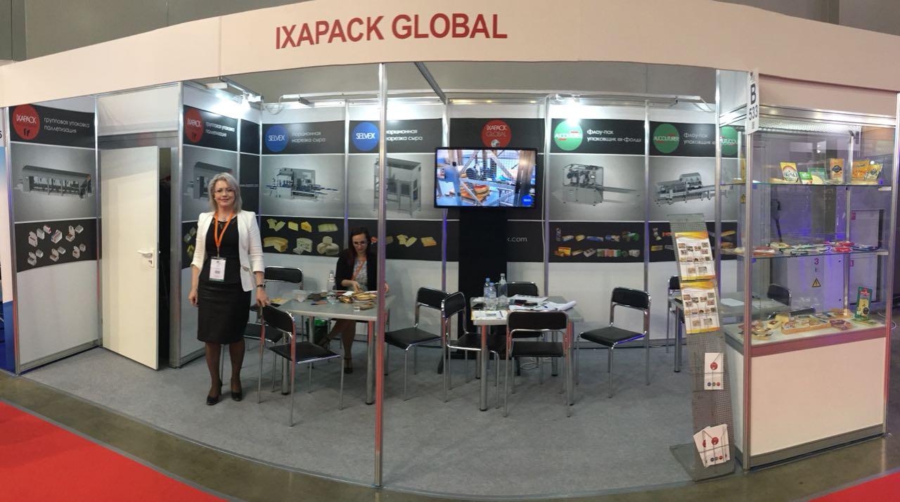 IXAPACK на 16-ой Международной выставке оборудования