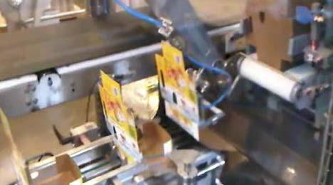 Машина для укладки продукта в короб сверху (2)
