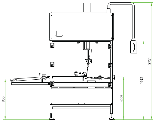 Схема машины SELVEX SPM (2)