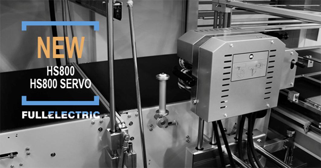 Новые модели термоупаковочных машин SMIPACK HS800 и HS800 Servo
