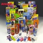 Упаковка химических препаратов и бытовой химии