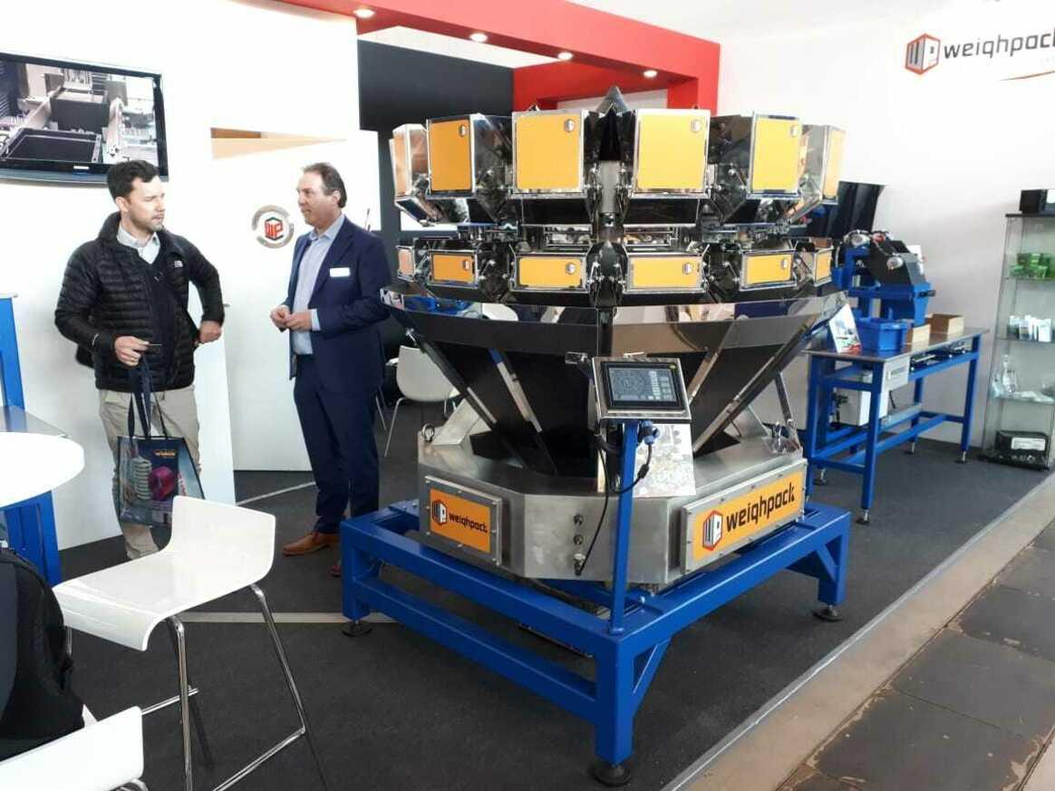 Weighpack и ГК ЗолотойШар на выставке Fasteners 2019 — фото с выставки