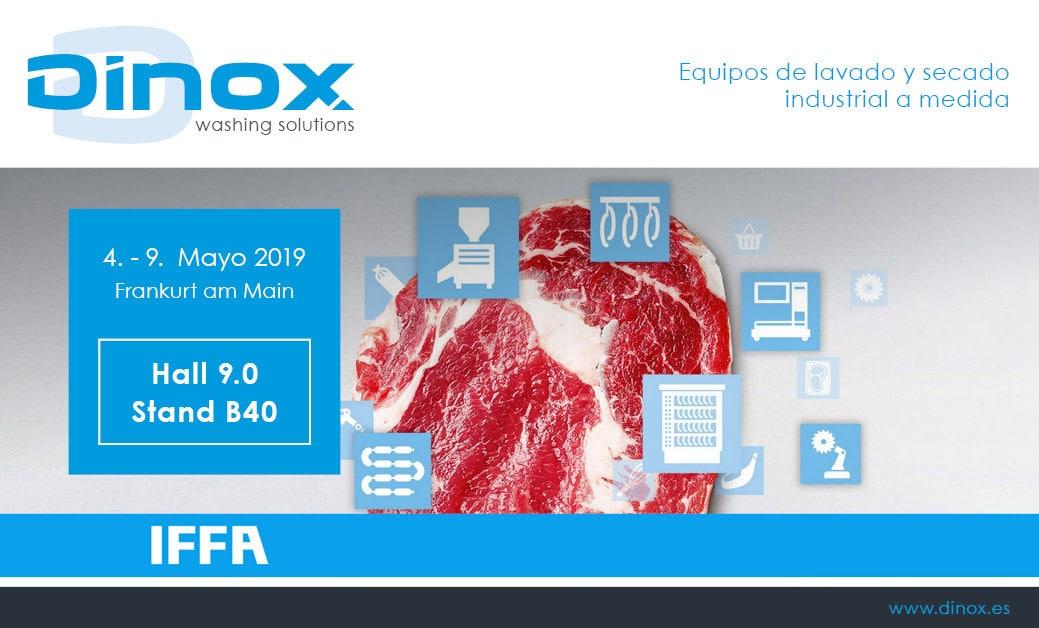 Компания DINOX на выставке IFFA
