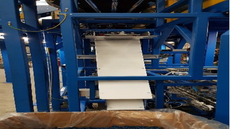 Автоматическая линия Weighpack для фасовки крепежа в блистеры