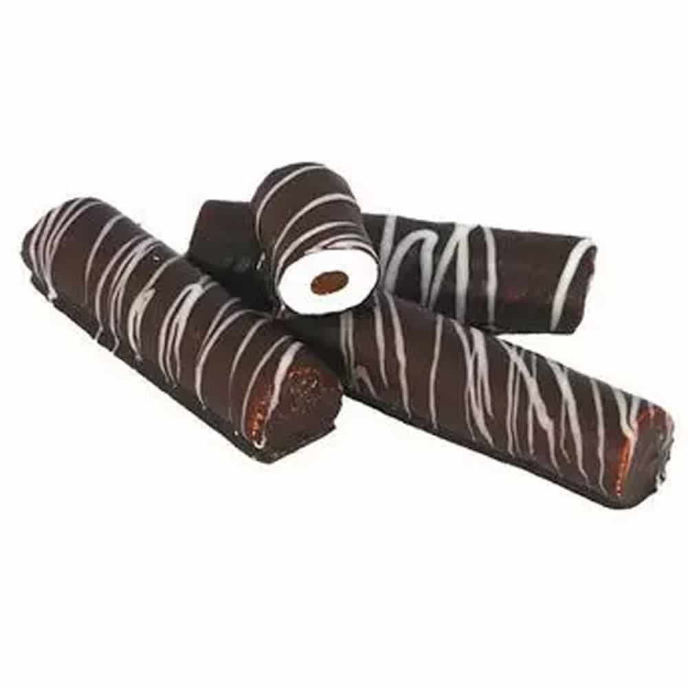 Зефирные палочки с конфетюрной начинкой