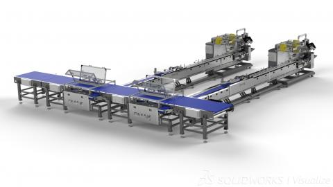 Автоматические подающие конвейерные системы OMAKS ADS